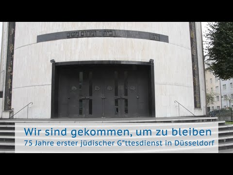 Jüdische Gemeinde Düsseldorf: Wir sind gekommen, um zu bleiben