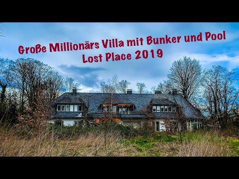 Lost Place : Große Millionärs Villa Sohl mit Bunker und Pool (4K)
