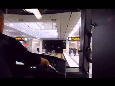 Düsseldorf, Wehrhahn-Linie: Die erste Fahrt mit der U72
