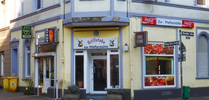 Die Grillstube Pfeffermühle in Friedrichstadt