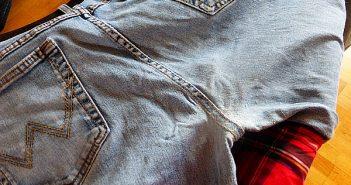 Muni flickt meine Jeans