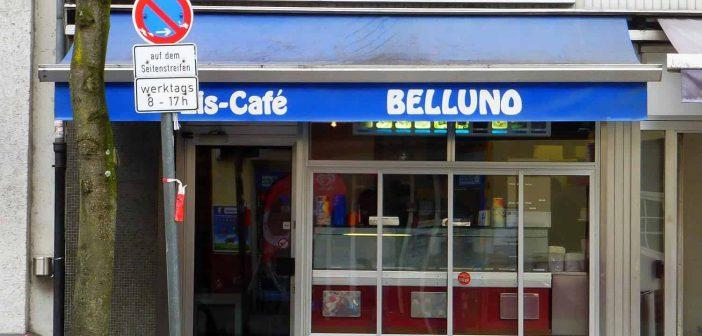 Eis-Café Belluno auf der Helmholtzstraße