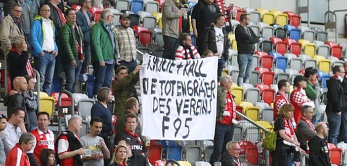 """F95 vs Aalen 0:2 - oder: """"Schulte und Kall -die Totengräber des Vereins"""""""