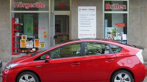 """Fachgeschäft """"Hörbar Sichtbar"""" auf der Pionierstraße"""