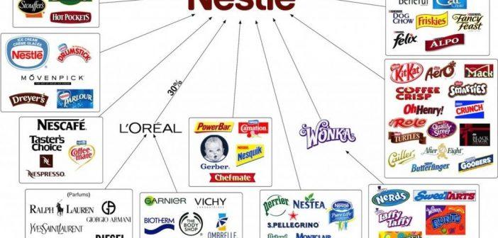 Der Nestle-Konzern, seine Marken, seine Verflechtungen