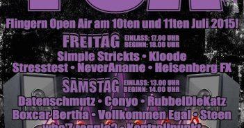 Flingern Open Air - Das Festival für die Musiker und Künstler der Stadt
