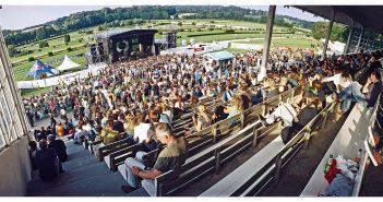 Das sommerliche Festival auf der Rennbahn: Open Source