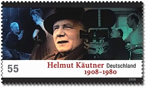 Eine Briefmarke für Helmut Käutner