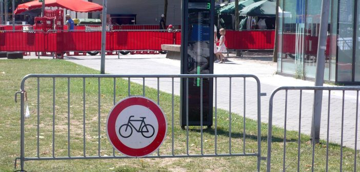 Düsseldorf fahrradfreundlich? Na, weißte...