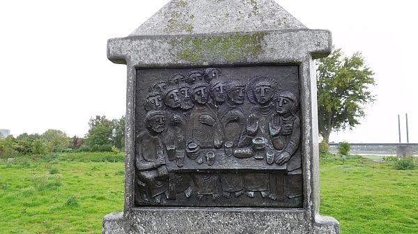 Merkwürdiges Denkmal am Pappelwaeldchen