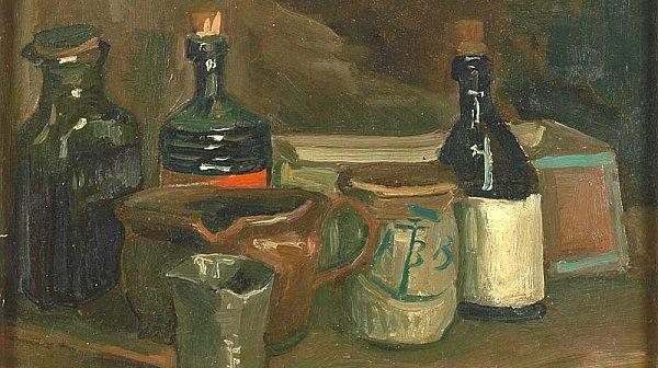 Van Gogh aß und malte ABB Mostert
