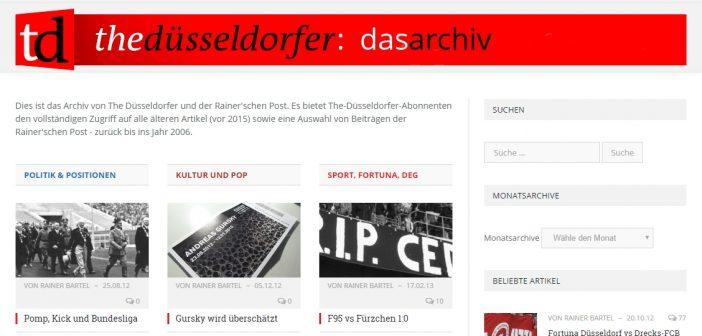 Die Archive