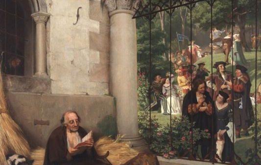 Ein Schinken vom Ehrenbürger Eduard von Gebhardt