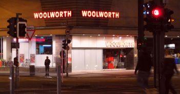 Bilder aus dem Oktober 2015: Woolworth am Oberbilker Markt
