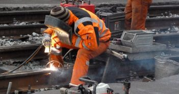 Bild der KW52: Gleisbau