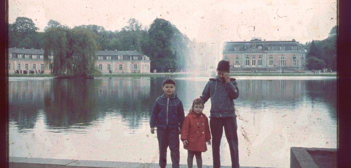 Mit nem Ei im Mund (11): Benrather Schloss, ca. 1960
