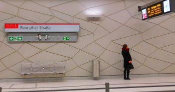 Wehrhahn-Linie: U-Bahnhof Benrather Straße