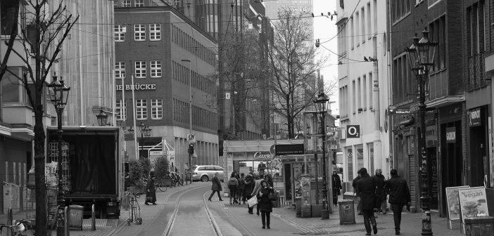 Bilder aus dem Februar 2016: Hunsrückenstraße, straßenbahnfrei