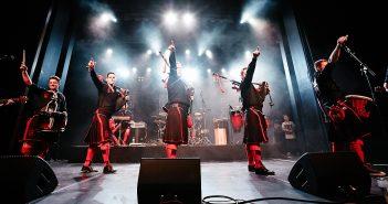 Die Könige des Bagrock - die Red Hot Chilli Pipers