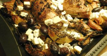 Griechisches Zitronenhähnchen - es lebe die Einfachheit!