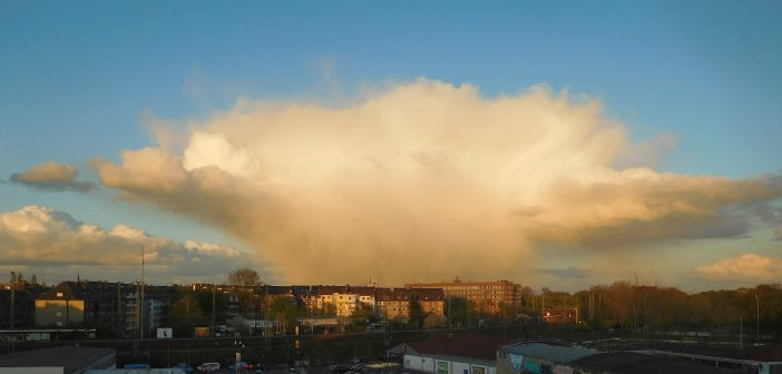 Atomwolke über Oberbilk