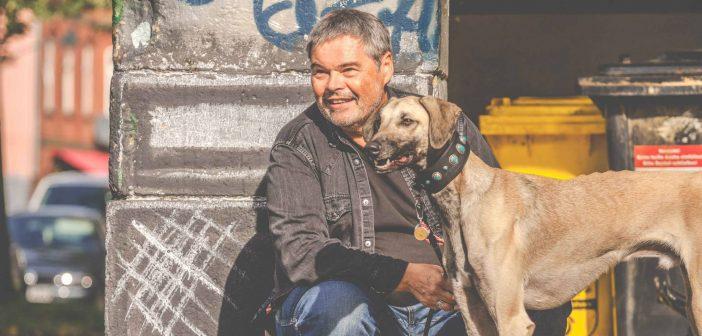 Clooney und Rainer in der Stadt (Foto: Antje Hachmann)