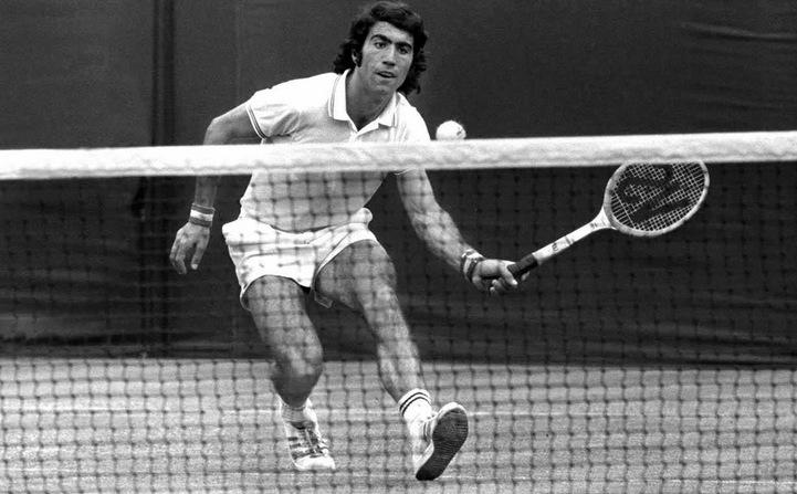 Davis-Cup 1970: Manuel Orantes für Spanien