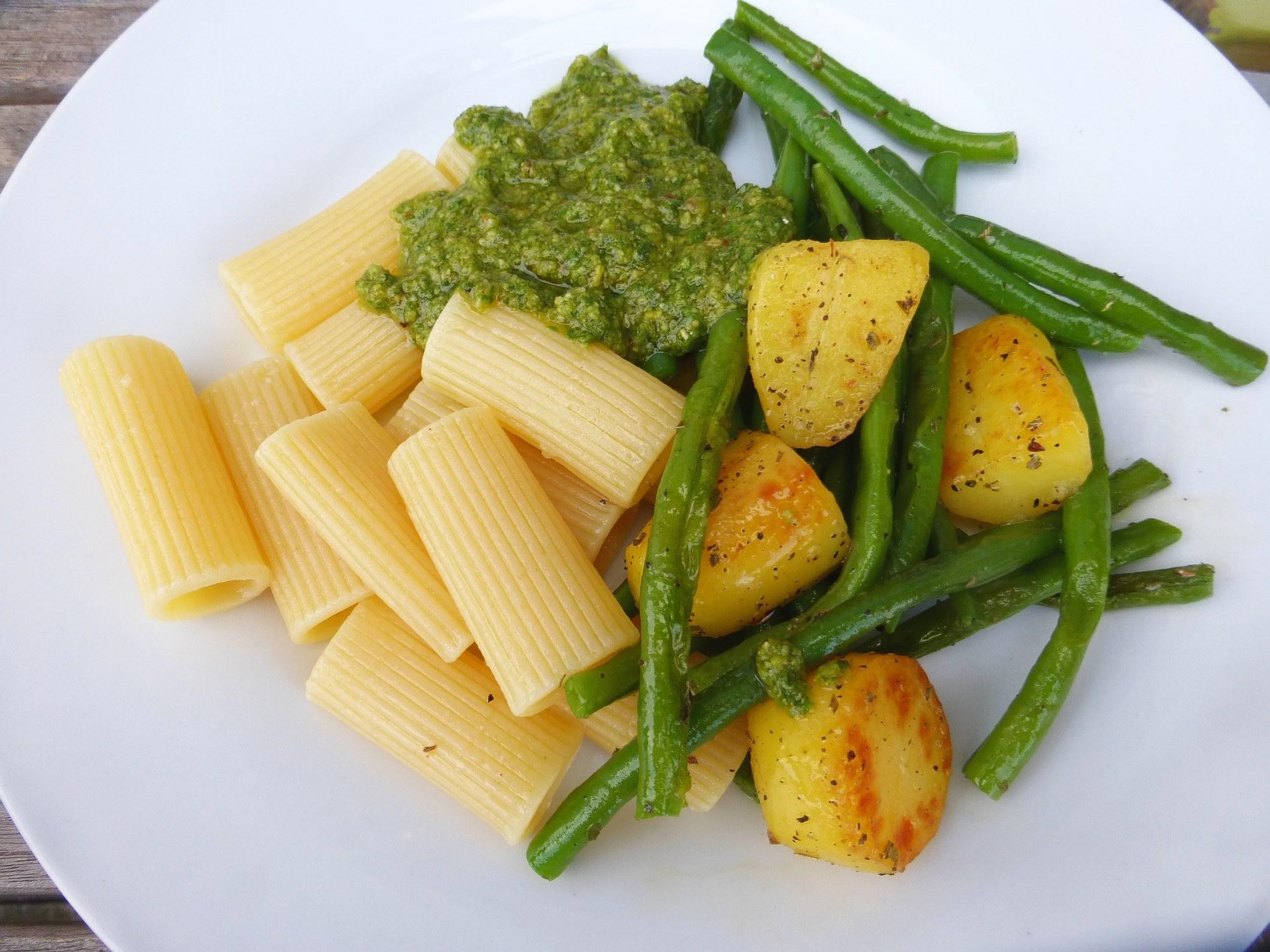 Rezept Der Woche Ligurische Nudeln Pasta Bohnen Kartoffeln
