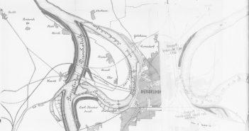 Mulvany Plan für den neuen Hafen