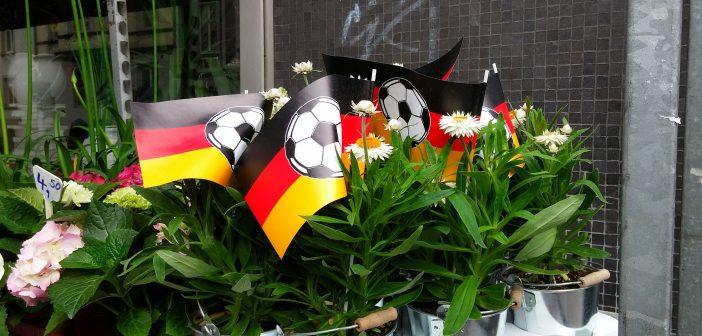 EM 2016: Wenn die Blümchen Flaggen tragen...