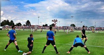 F95 vs CF Malaga 2:3 (Foto: Mathias Neugebauer)
