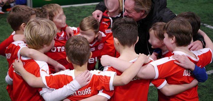 Fortuna-Rückblick: Jubel nach dem 5:4 Pokalsieg gegen Rostock
