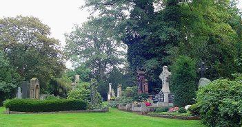 Der Millionenhügel auf dem Nordfriedhof (via Wikimedia)