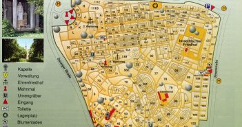 Nordfriedhof: Lageplan
