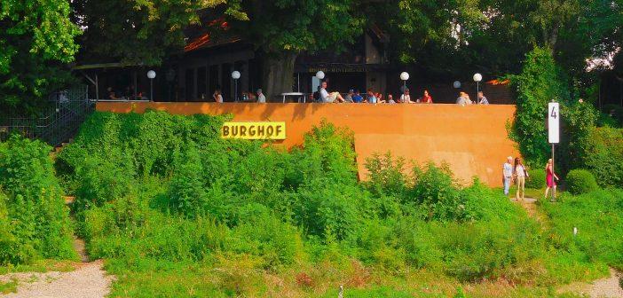 Burghof - Biergarten in Kaiserswerth