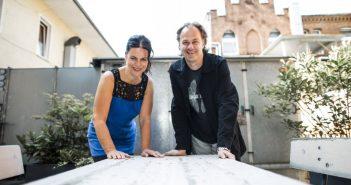 Christiane Oxenfort und Andreas Dahmen vom düsseldorf festival! (Foto: Adrian Bedoy)