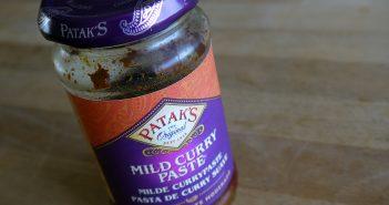 Patak's Mild Curry - die Paste meines Vertrauens