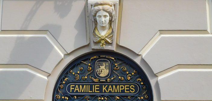 Haus der Familie Kampes am Burgplatz