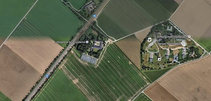 Google-Map: Raketenstation Kapellen