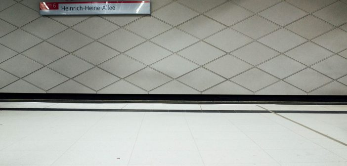 Bild der KW38: U-Bahn-Station
