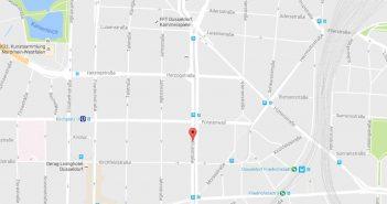 Google-Map: Corneliusstraße