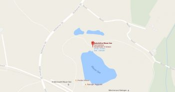 Google Map: Blauer See in Ratingen