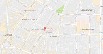 Google-Map: Friedensplätzchen