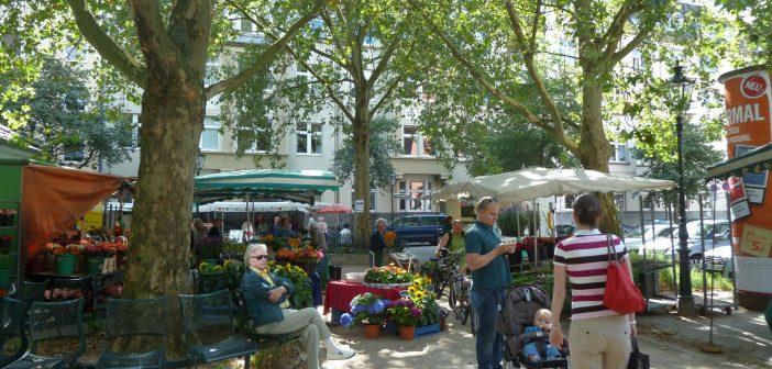 Der wunderschöne Bauernmarkt am Friedensplätzchen