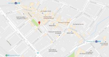 Google-Map: Getrudisplatz, Eller
