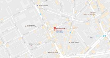 Google-Map: Ritzdorf auf der Römerstraße