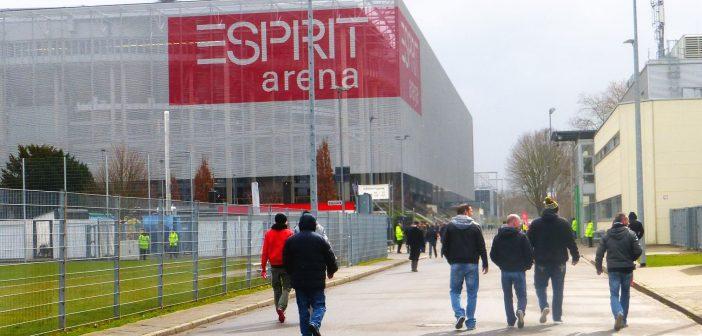 Fortuna in der Arena - irgendwie modern