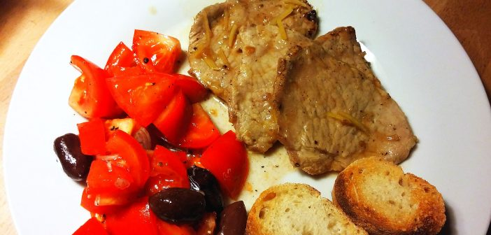 RdW: Scaloppine al limone