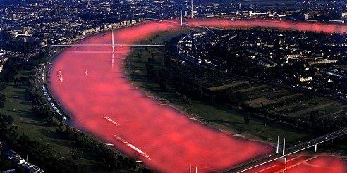 Bambi 2007: Der rote Rhein, der nicht funktionierte