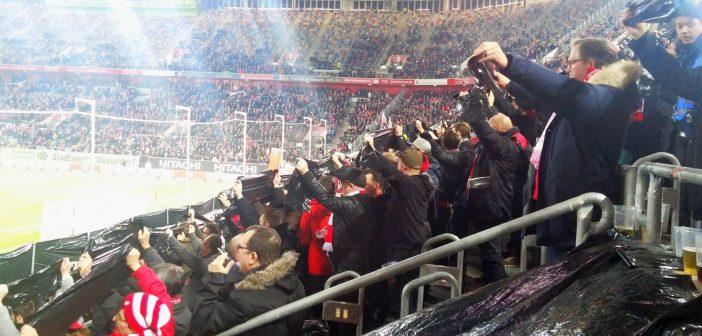 F95 vs Hannover - Trauer-Choreo für Matthes Mauritz